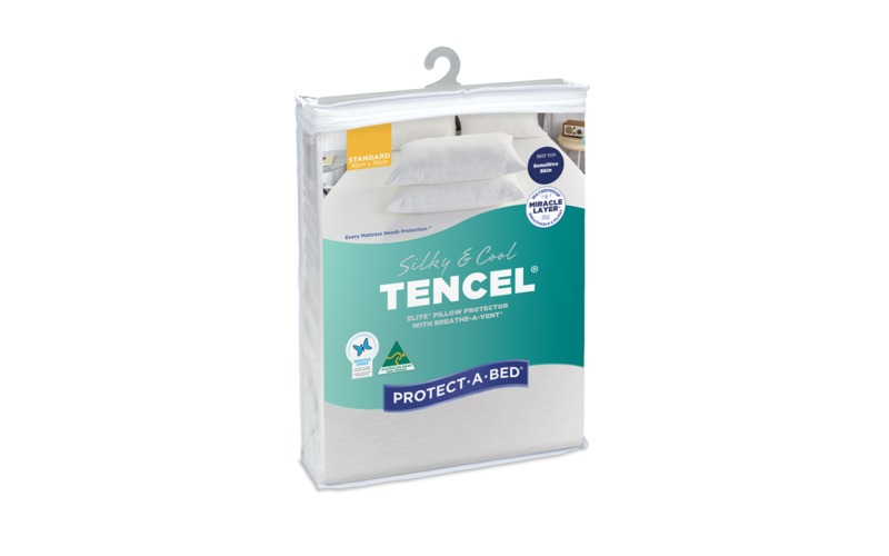 Protect A Bed Tencel 174 Silky Amp Cool Pillow Protector