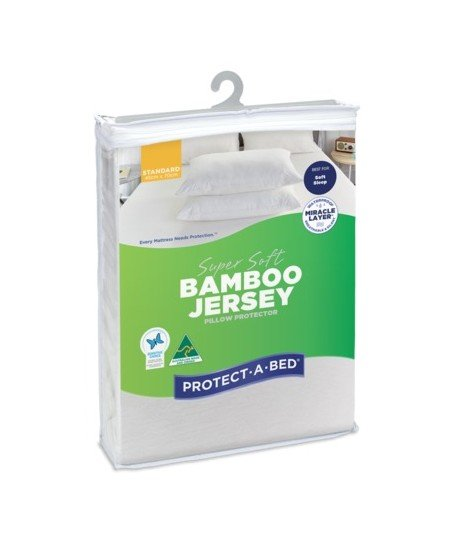 Protect-A-Bed Bamboo Jersey Super Soft Pillow Protectors