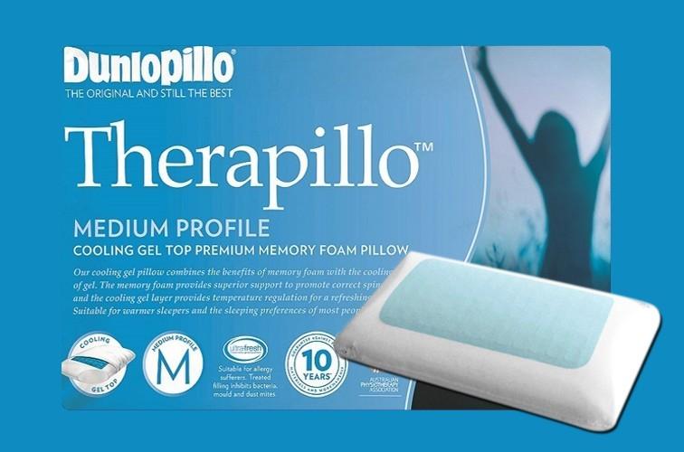 Therapillo Cooling Gel Top Premium Memory Foam Medium