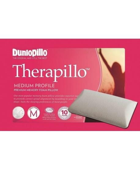 Therapillo Premium Memory Foam Medium Profile Pillow