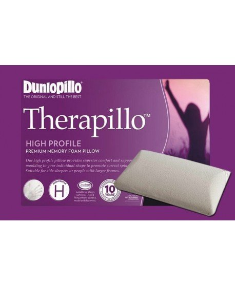 Therapillo Premium Memory Foam High Profile Pillow