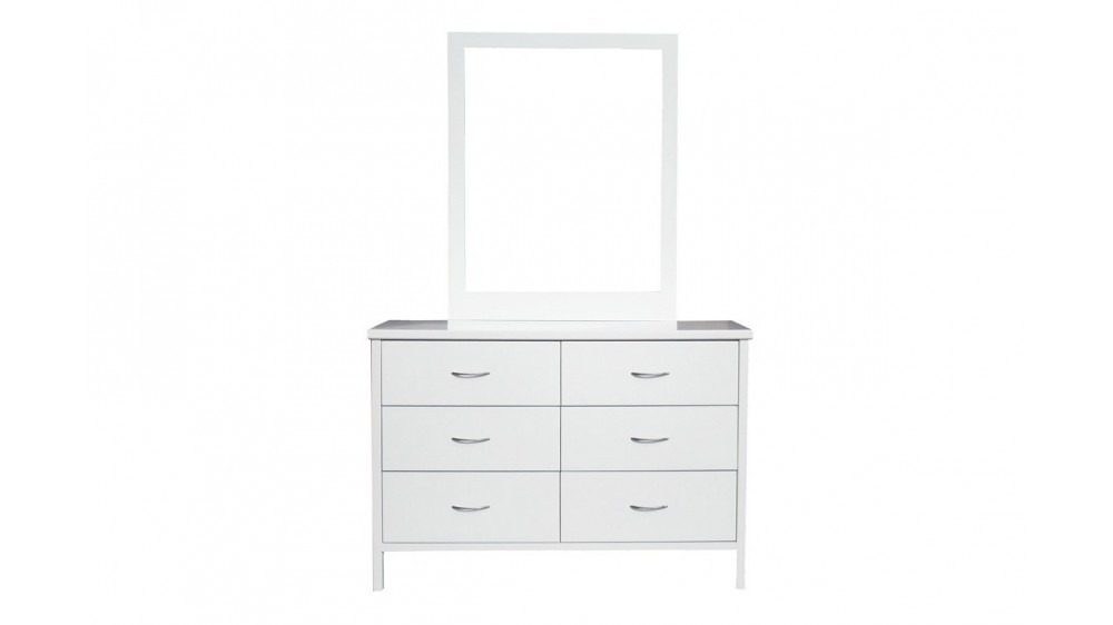 Dalby Timber Dresser with Mirror