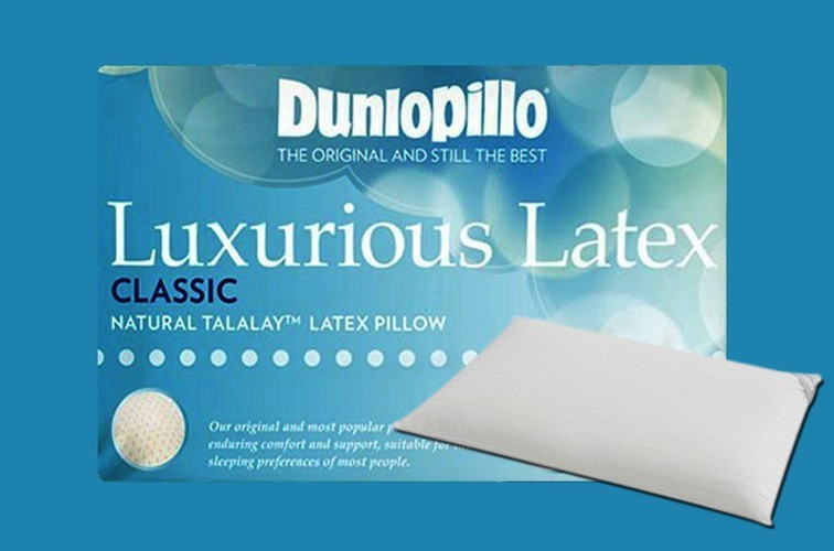 Dunlopillo Luxurious Latex Classic Pillow