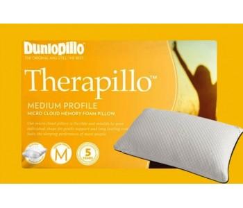 Therapillo Memory Foam Medium Profile Pillow