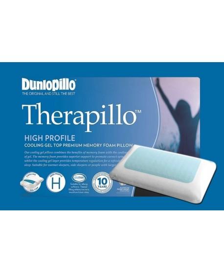 Therapillo Cooling Gel Top Premium Memory Foam High Profile Pillow