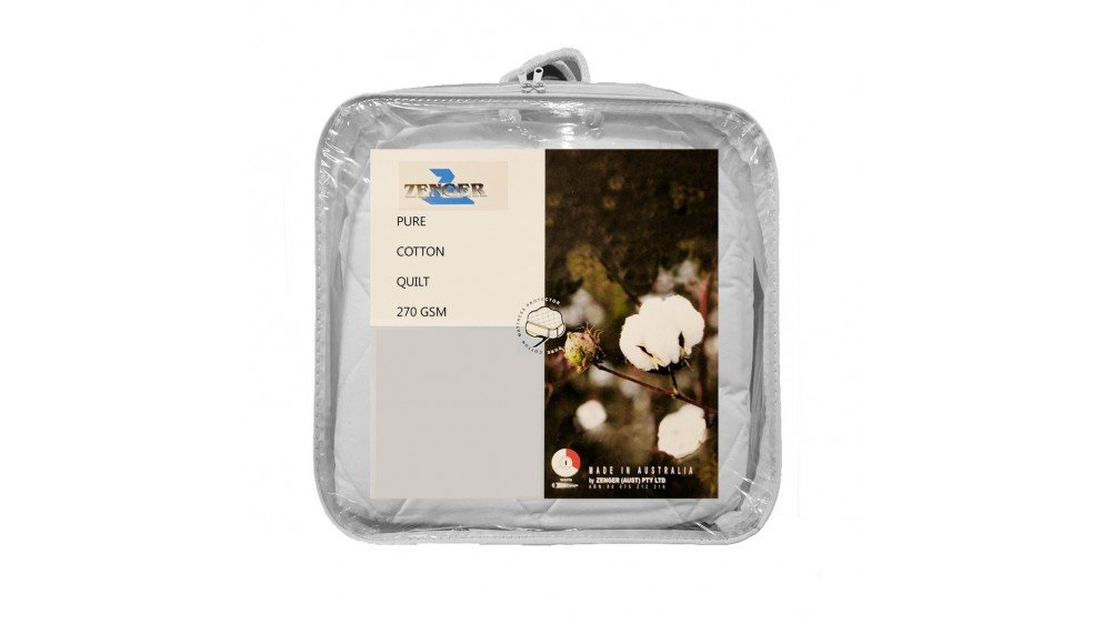 Zenger Pure Cotton Quilt 270 GSM