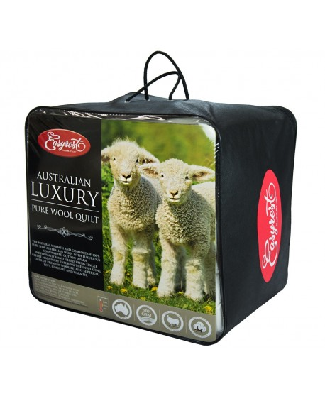 EasyRest Australian Luxury Pure Wool Quilt 500 GSM