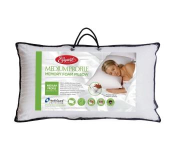 Easy Rest Memory Foam Medium Profile Pillow