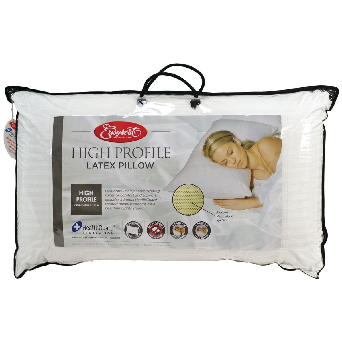 Easy Rest High Profile Latex Pillow