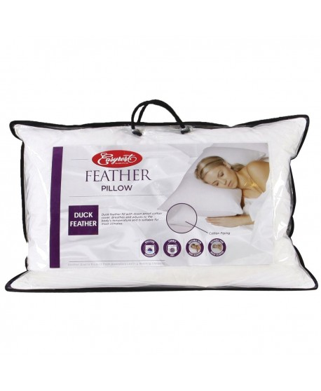 Easy Rest Duck Down Pillow Standard Size
