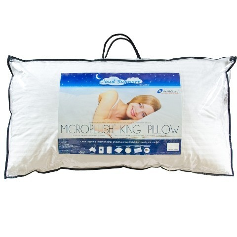 Cloud support u shape support pillowcloud support for How big are king size pillows