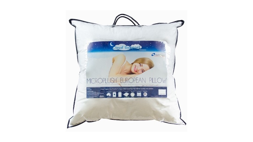 CLOUD SUPPORT MICROPLUSH EURO PILLOW