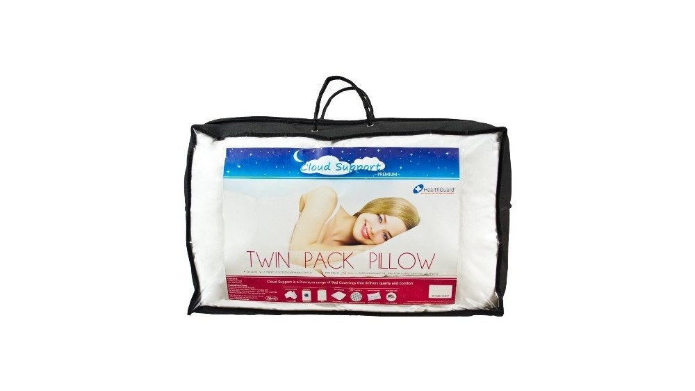 CLOUD SUPPORT TWIN PACK PILLOW