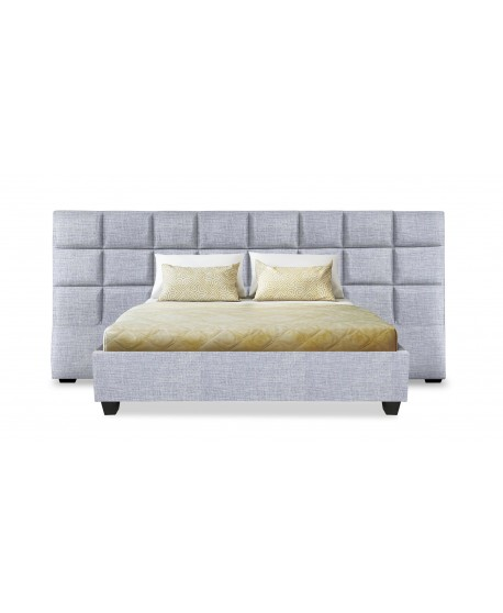 Boxy Custom Upholstered Wide Bed Head