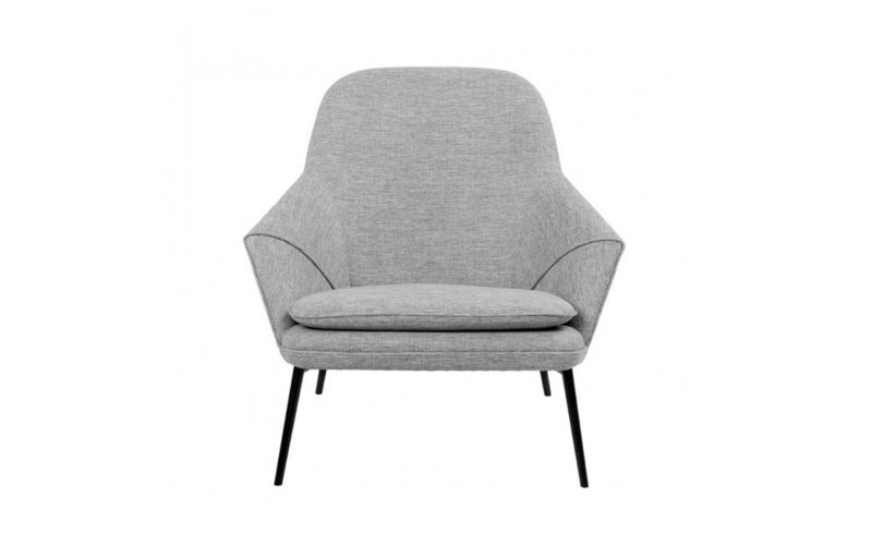 sc 1 st  Bedworks & Hug Fabric Lounge Chair