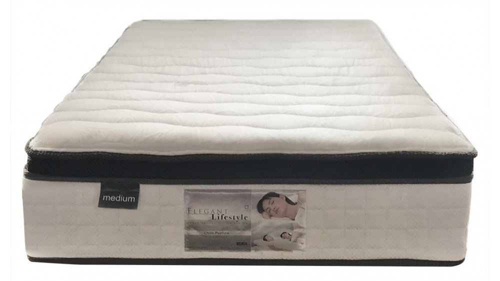Comfort Sleep Chiro Posture Pocket Spring Medium Mattress