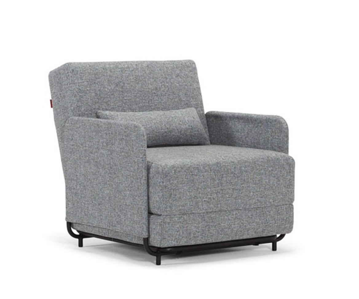 Single Sofa Chair Bed: FLUXE SOFA BED ARM CHAIR