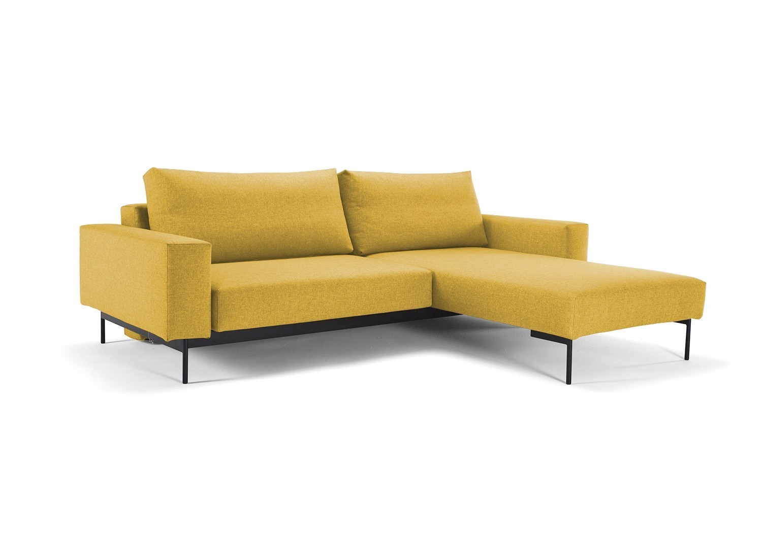 Bragi chaise sofa bed with arms innovation living for Chaise sofa bed
