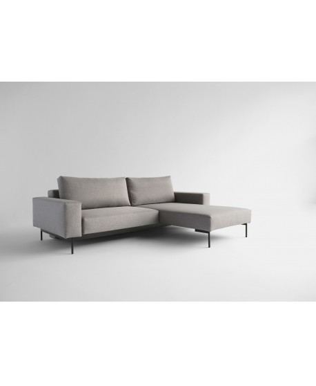 Bragi Chaise Sofa Bed With Arms - Innovation Living