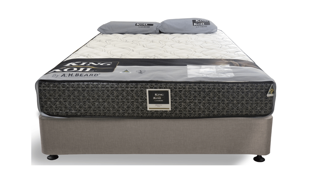 King Koil Brighton Mattress With Comfort Sleep Matrix 9 Ensemble Base