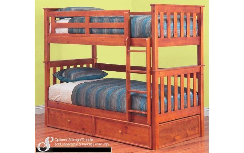 Fort Timber Bunk Bed Single King Single
