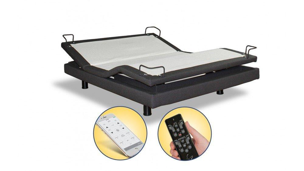 Reverie 7s  Wireless Adjustable Bed Base  with Essential