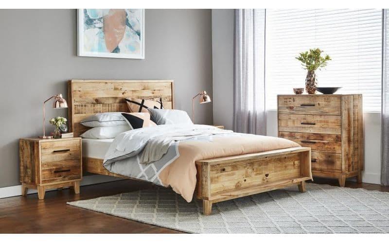 Cronulla Timber Queen Bed Suite Options