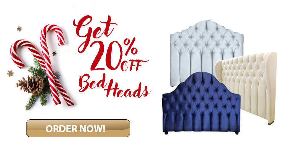 Get 20% OFF Stylish Custom Bed Heads from Bedworks