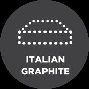 Italian Graphite Memory Foam
