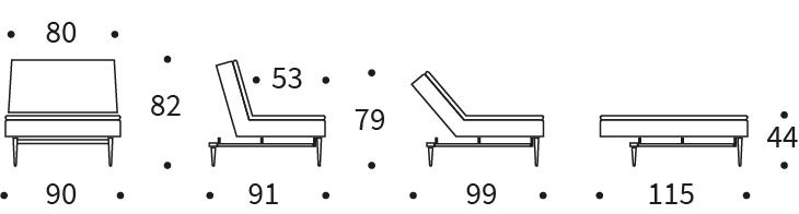 Dublexo Chair Dimension