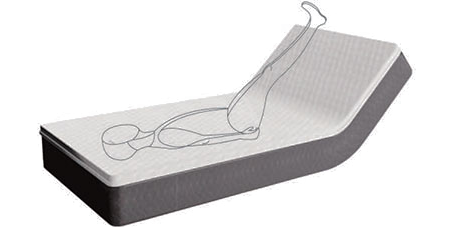 Flexicare Adjustable Mattress Reflexive Support diagram 3