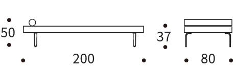Bedworks Sofa Beds - Napper Single Daybed