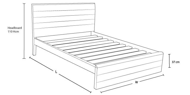 Orka custom timber bed