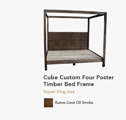 Cube Four Poster