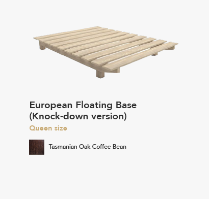 European FLoating Bed Base