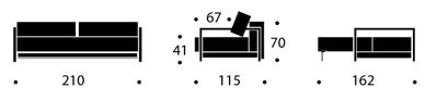 Bedworks Sofa Beds - Bifrost Deluxe Excess Queen Sofa Bed
