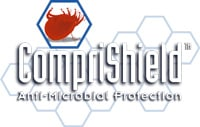 Comfort Sleep mattress is treated with CompriShield