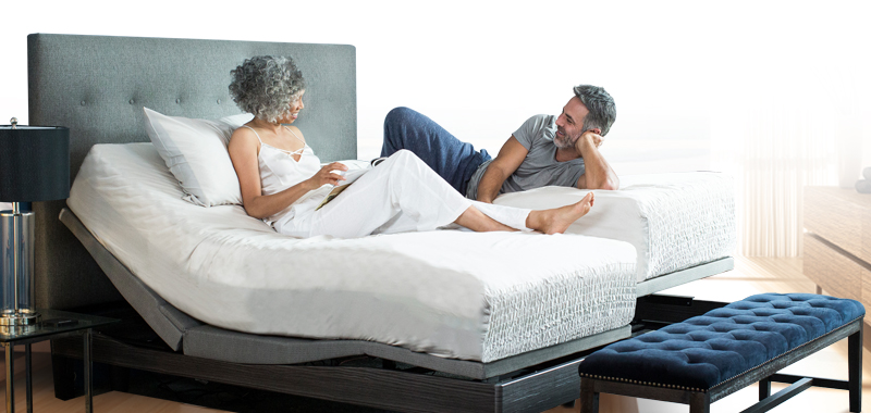 The Reverie Mattress is specially built to match the Reverie Adjustable Bases