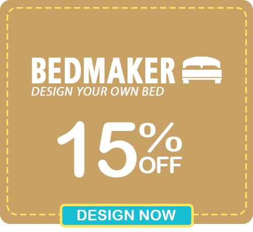 Pre-Christmas Super Deals - Get 15% OFF Your BEDMAKER Designs! Design your Own