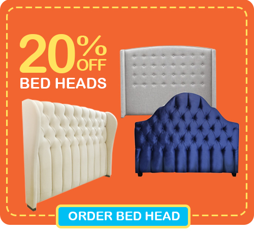 Pre-Christmas Super Deals - Get 20% OFF ALL CUSTOM BED HEADS! Limited time only!