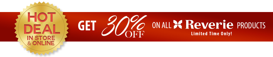 EXCLUSIVE DEAL!!! Get 30% OFF on ALL Reverie Mattresses and Adjustable Bases