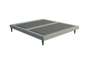 Slimline Upholstered Bed Base - Bedworks