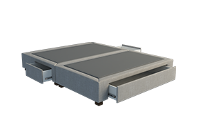 Divian T4 3 Drawer bed base - Bedworks