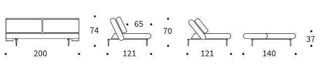 Unfurl Lounge Dimensions
