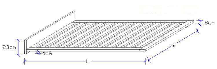 Vanessa Timber Bed Frame - Custom Made Bed Design