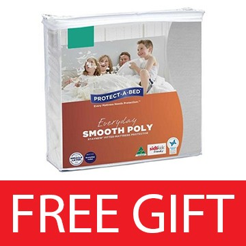 Everyday Smooth Poly Mattress Protector