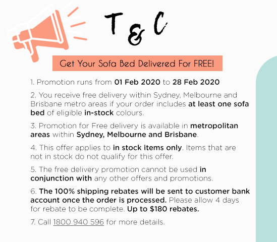 2020 Bedworks Free Delivery Sale T&C