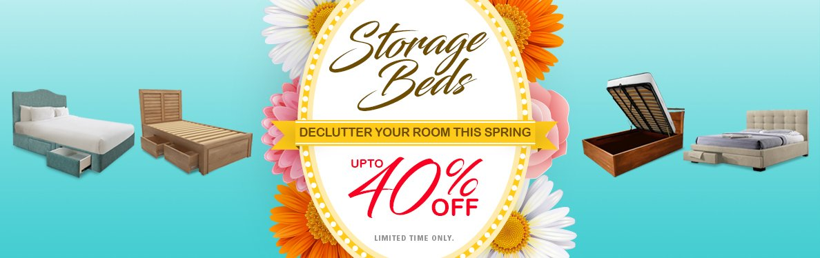 SpringSale - 40% off Custom Made Bedframe and Furniture