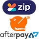 Afterpay, Zipmoney, Humm interest-free financial payment plan